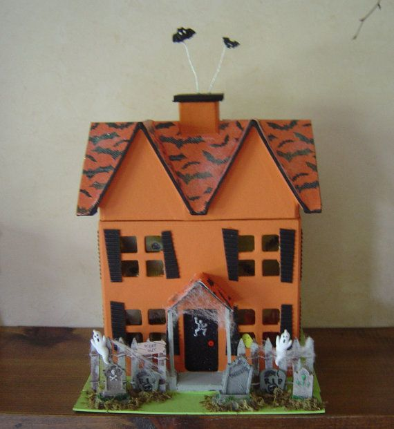 1000 images about cardboard houses on pinterest for How to make a cardboard haunted house