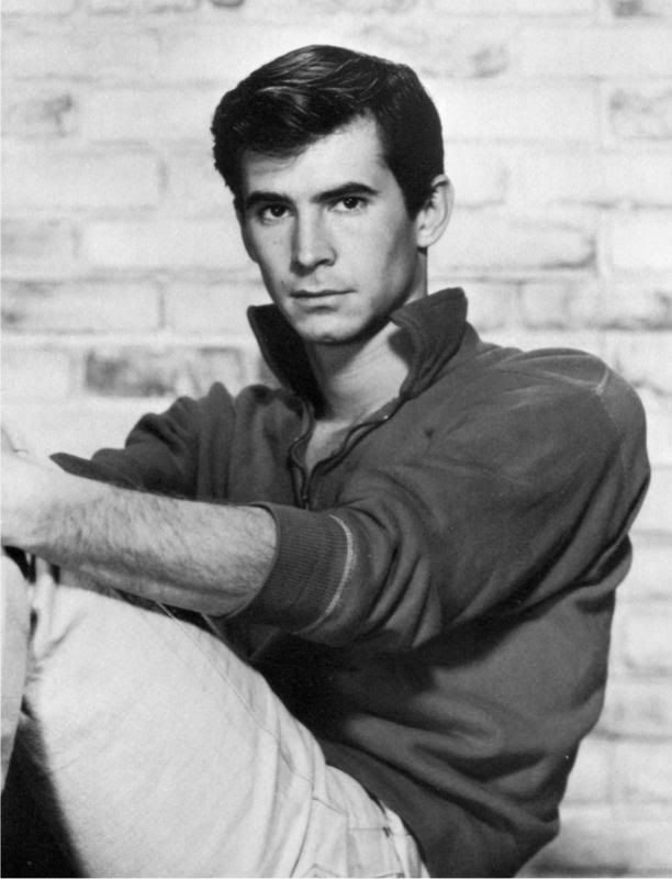 Anthony Perkins. Just look at him!!!