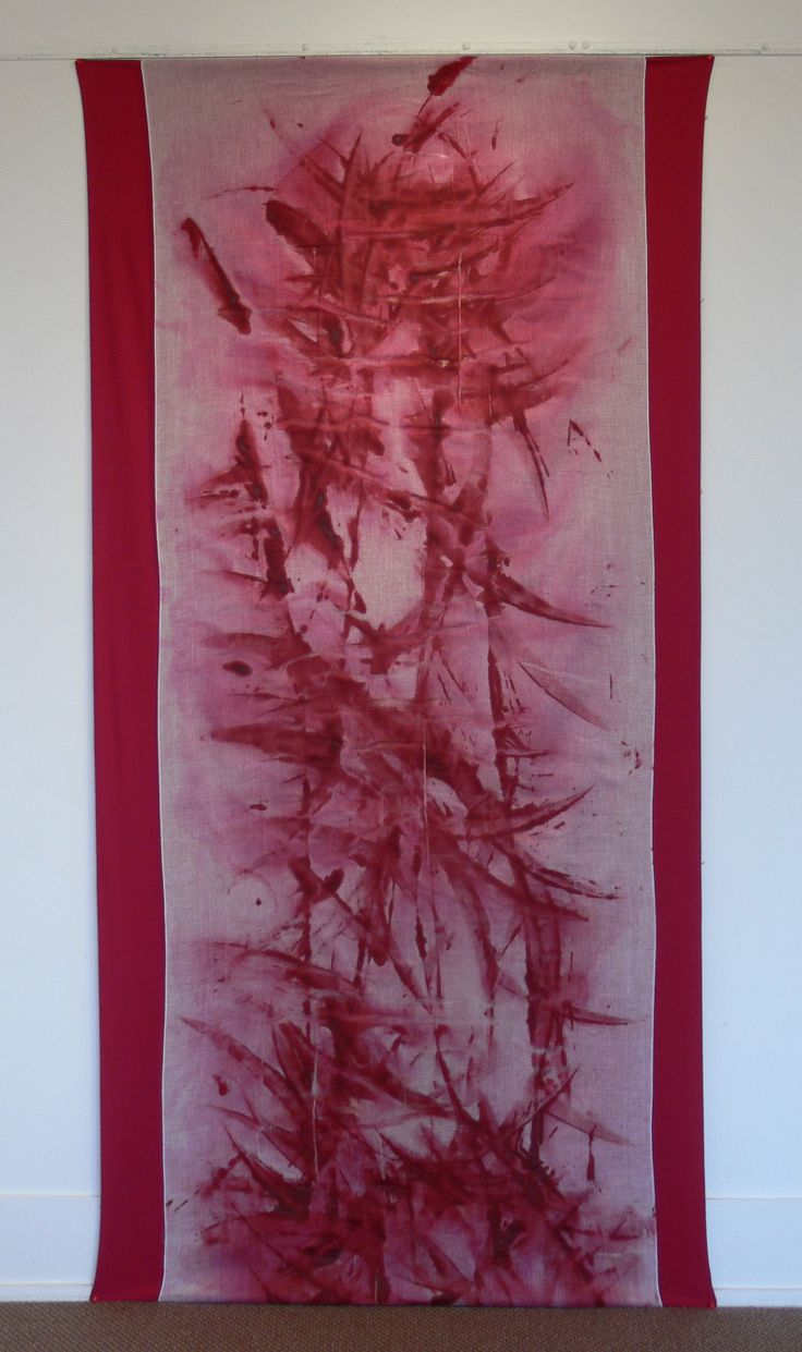 'Alizarine Red', Dancing with the Conventions of Painting, Exhibition by Lisa Corston-Buddle, June 2013