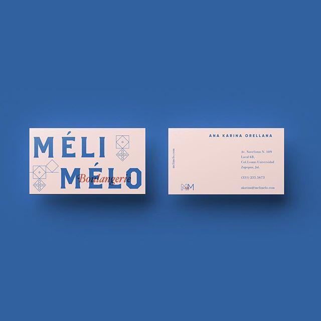 Mélimélo bakery brand identity by Daniela Archila #InspoFinds