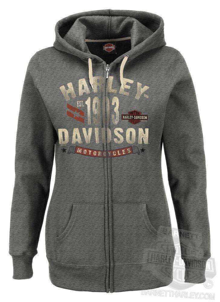 Harley hoodie