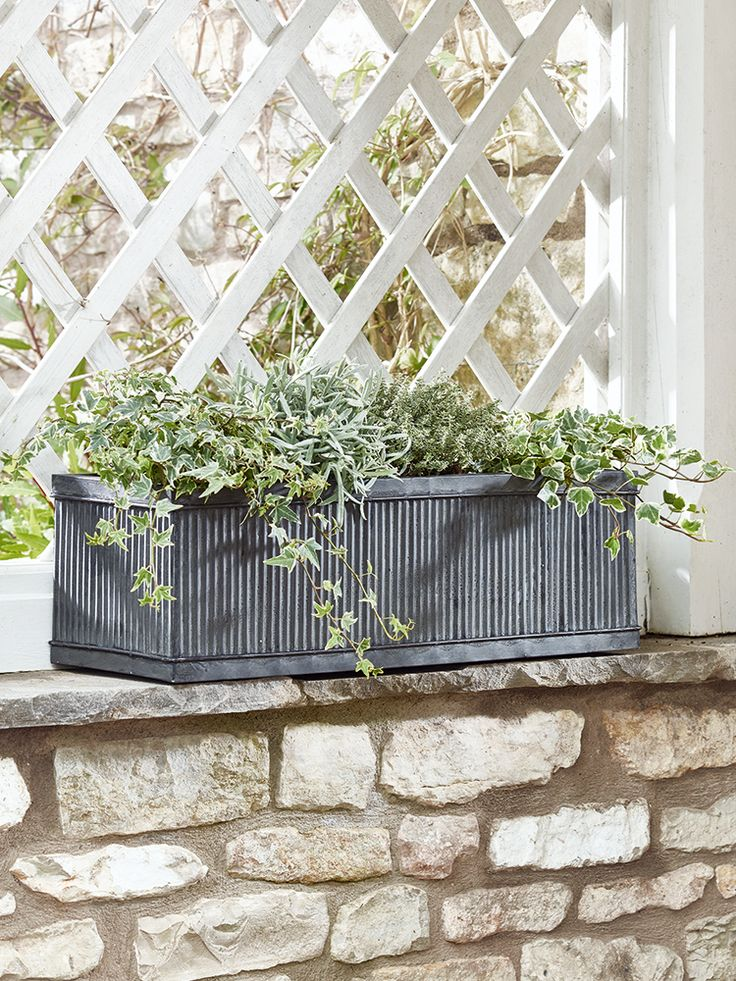 NEW Galvanised Fluted Trough