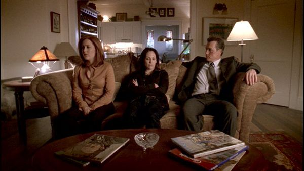 Dana Scully, Monica Reyes, John Doggett.