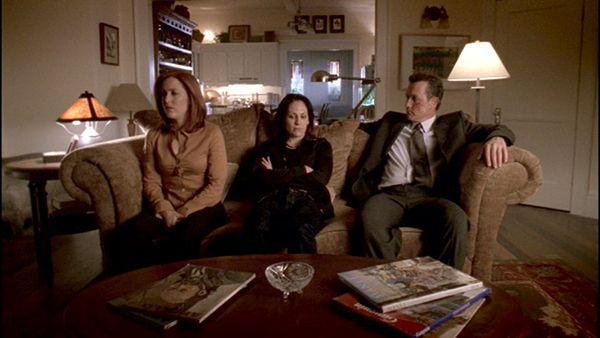 Dana Scully, Monica Reyes, John Doggett.
