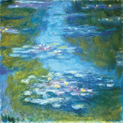 Nympheas ~ Claude Monet..I like it.