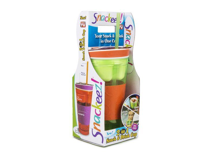 Matbehållaren Snackeez, ultimat mellanmålsförvaring! - CoolStuff.se