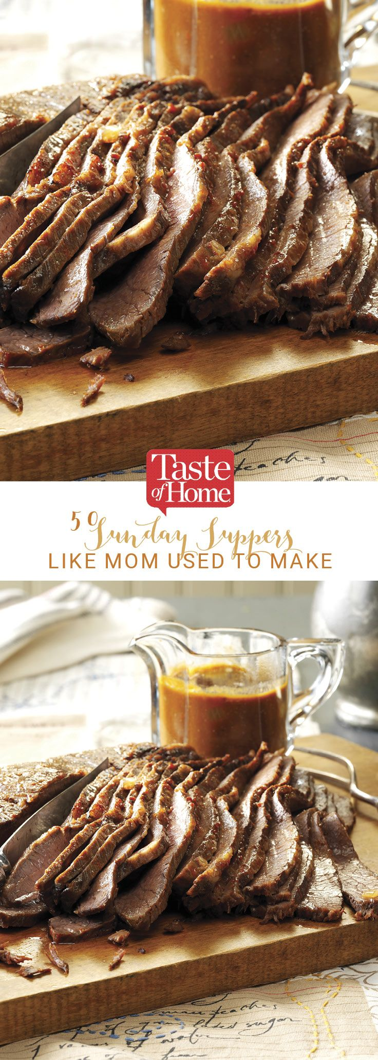 108 best sunday dinners images on pinterest cooking recipes 50 sunday suppers like mom used to make sunday dinner recipessunday forumfinder Choice Image