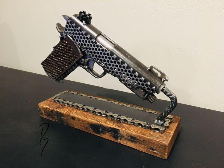 Pin on Scrap Metal Armory, DG Sculpture and Design