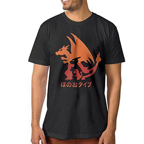 Boy's Pokemon Go Charizard Evolution T-shirts – Pokemon Tshirt for Men