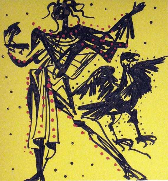 Set of x12 Salvador Dali the twelve