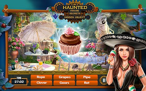 Download and Play Hidden Object Games Free : Haunted House Secrets