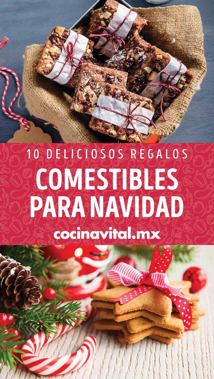 Es mejor cuando das un regalo hecho por tí. Por eso te dejamos estas deliciosas ideas. Christmas Crafts, Bread, Breakfast, Gifts, Food, Pastries, Holiday Desserts, Morning Coffee, Brot