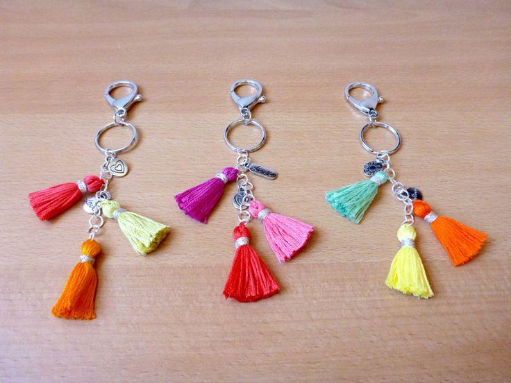 LovCraftShop- tassel keychain with charms