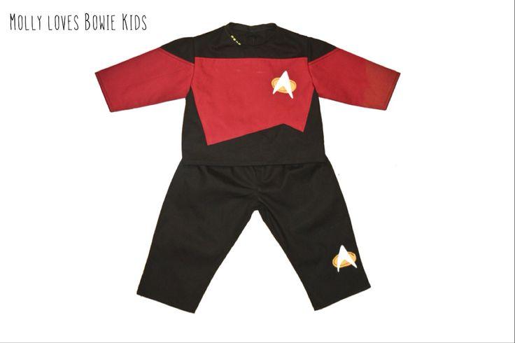 Star Trek Baby Costume,  Molly loves Bowie Kids