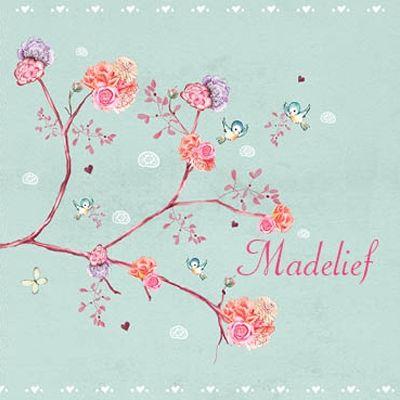 geboortekaartje Madelief