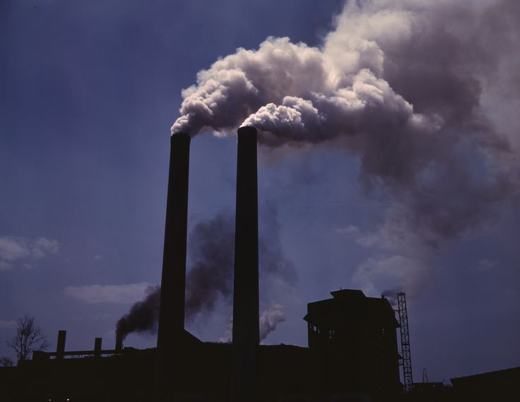 All about Pollution Fun Earth Science Facts for Kids - Image of an Air Pollution Caused by Industrial Smoke