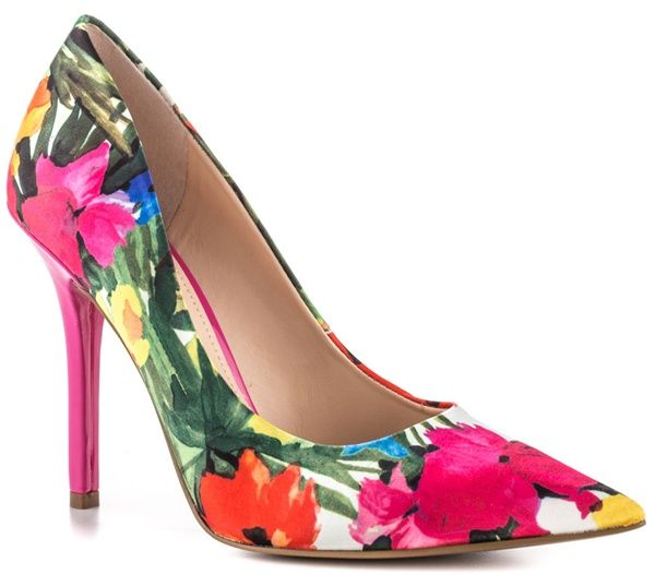 4 Fashion Bloggers Show How to Style Floral-Print Heels