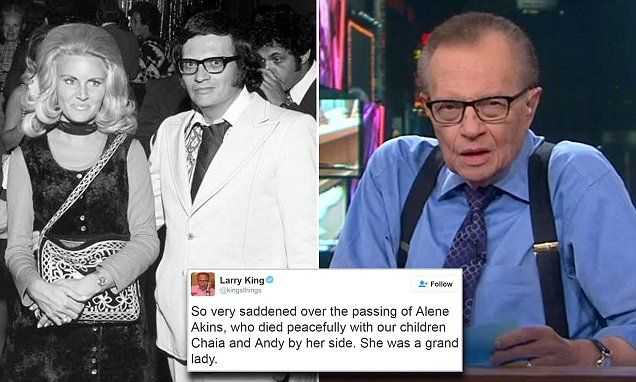 Larry King mourns the death of ex-wife and 'grand lady' Alene Akins