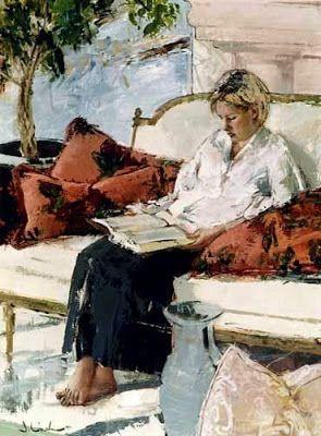 Reading and Art: Jonathan Linton