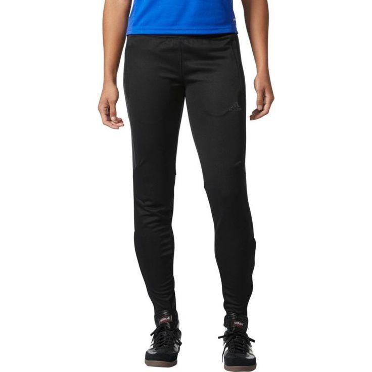 adidas Women's Tiro 17 Soccer Training Pants, Size: Medium, Black