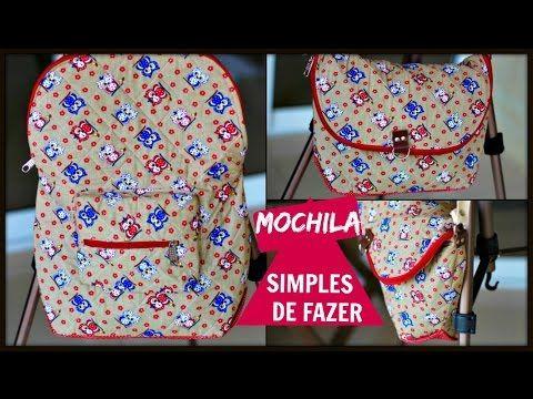 Mochila Rosa| Elisa Fumache | Patchwork Sem Segredos 75 - YouTube