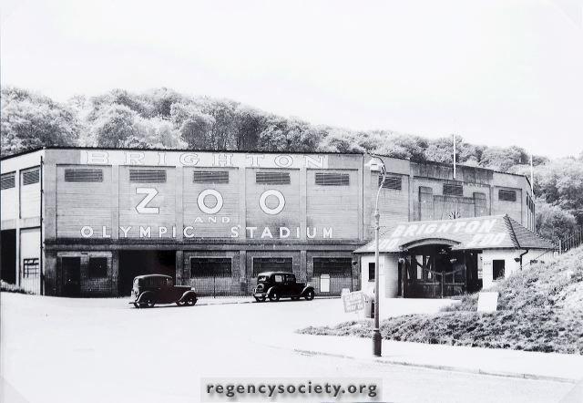 Brighton Zoo and Olympic Stadium 1940s