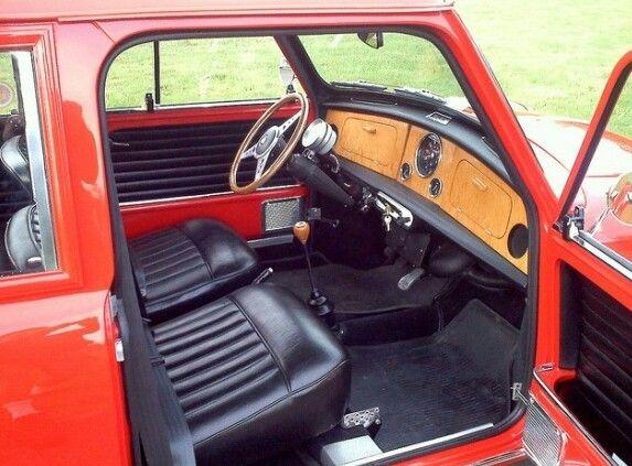 Classic mini interior idea