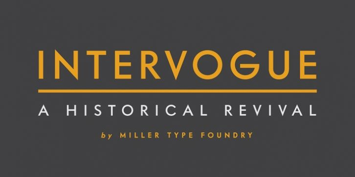 Intervogue™ font download | Fonts | Fonts, Sans serif fonts