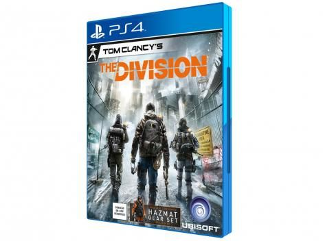[MAGALU] Tom Clancys The Division - Limited Edition - para PS4 - R$ 69,90
