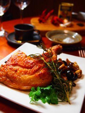 本格★骨付き鶏もも肉の狩人風♪ by オジカソース [クックパッド] 簡単 ...