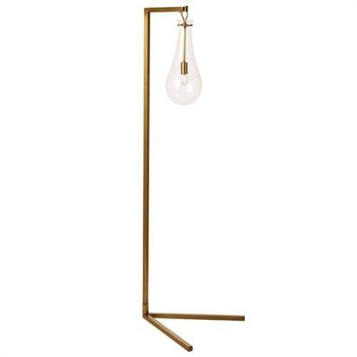 Sabine Iron/Glass Floor Lamp