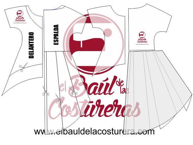 Blusa cola de pato patrón de costura | Moldes para hacer | Pinterest ...
