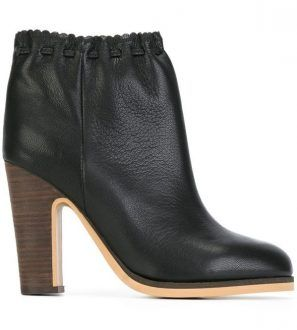 SEE BY CHLOE' - Stivaletti neri Jane con coulisse
