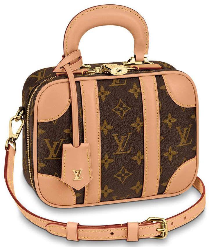 Louis vuitton mini luggage monogram bb brown in 2021