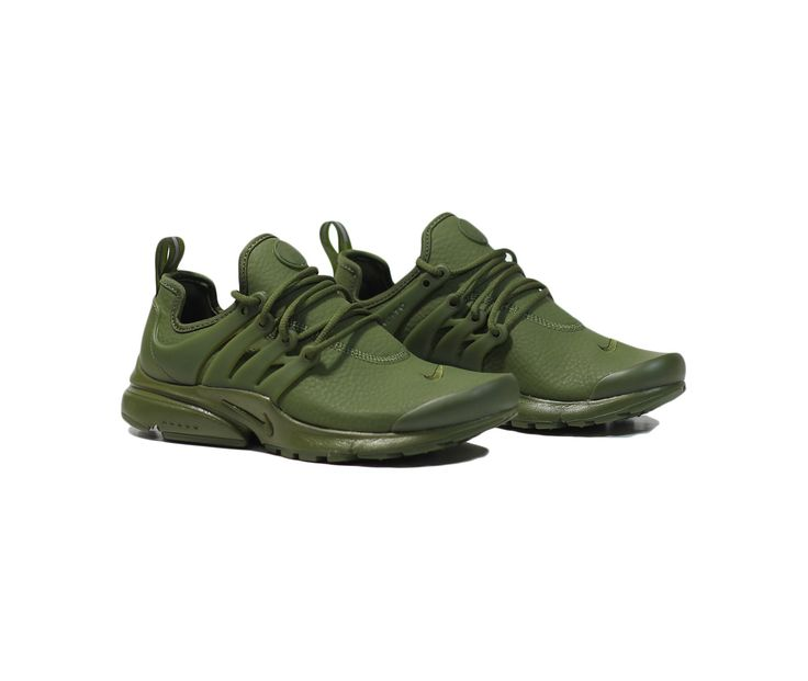 Nike Womens Air Presto PRM - Legion Green/Black