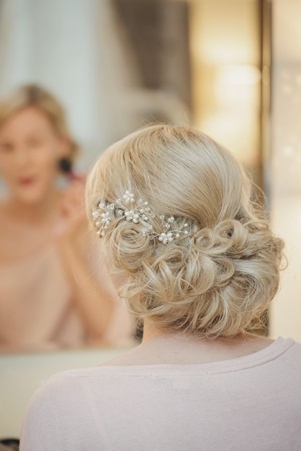 Handmade Woodland Wedding Bride Bridal Hair Up Do Style http://www.gemmawilliamsphotography.co.uk/