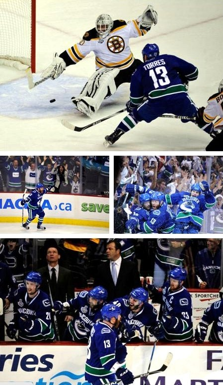 Game one of the 2011 stanley cup finals. Can we go back? #canucks