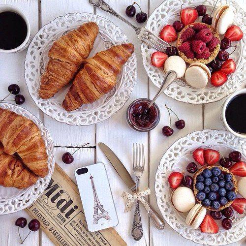 Let petit déjeuner
