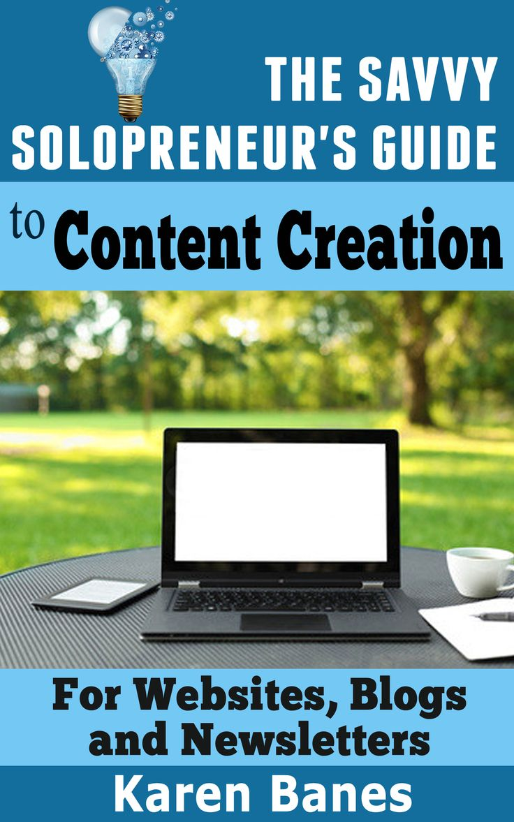 The Savvy Solopreneur's Guide To Content Creation http://amzn.to/1pK4bAt  #ContentMarketing #ContentStrategy #ContentCreation