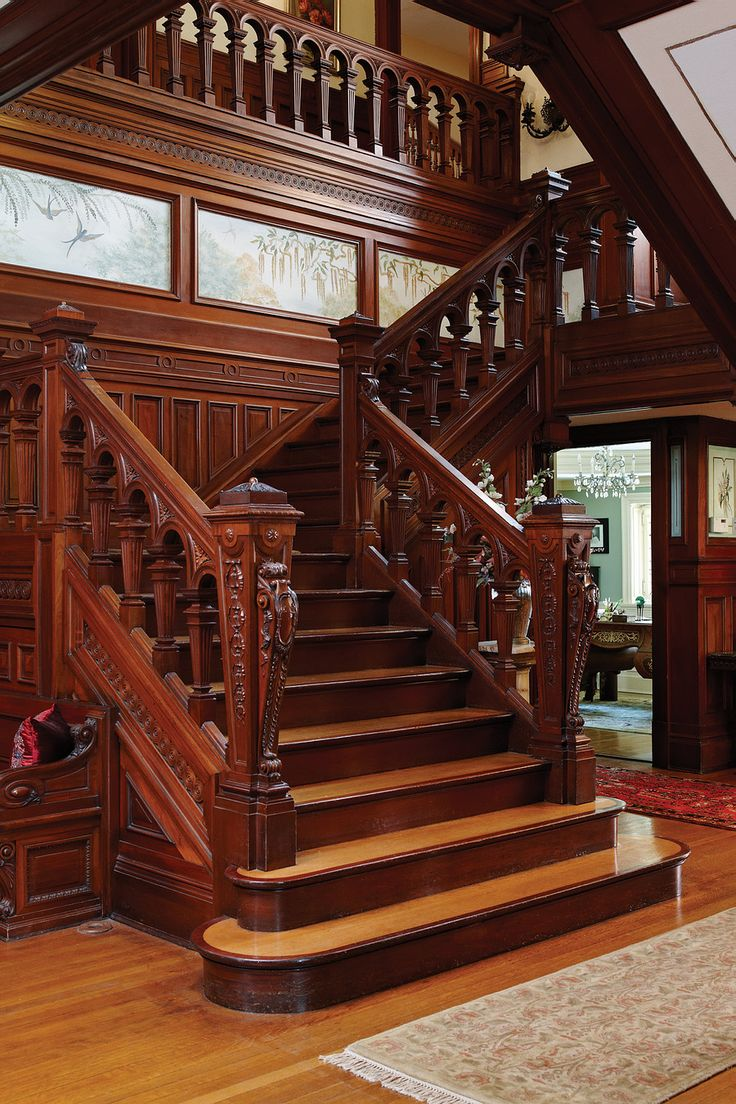 546 best stair case ideas images on pinterest stairs for Victorian woodwork