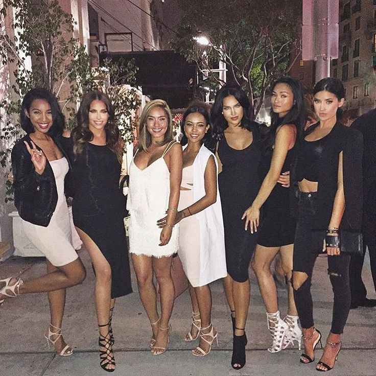 "Olivia Pierson | Blogger on Instagram: ""Birthday dinner for @sharinagutierrez with the girls! @gelilee87 @tamietran @karrueche @nataliehalcro @justtnic """