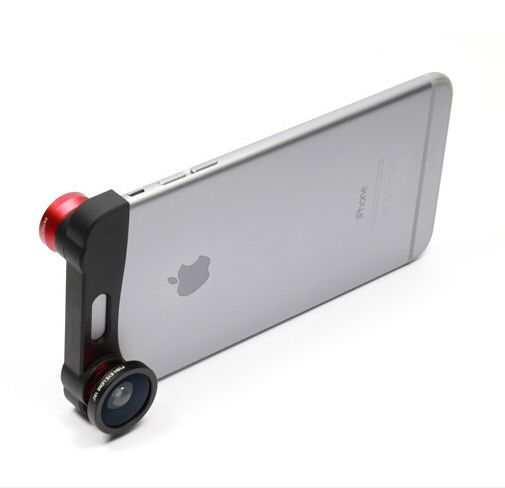 Apple iPhone6 ​​triple phone fisheye wide angle lens iPhone6 ​​dedicated macro lens triple - BuyWithAgents