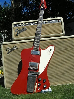 Gibson Firebird V built in 1964 from Brian Setzer's Collection