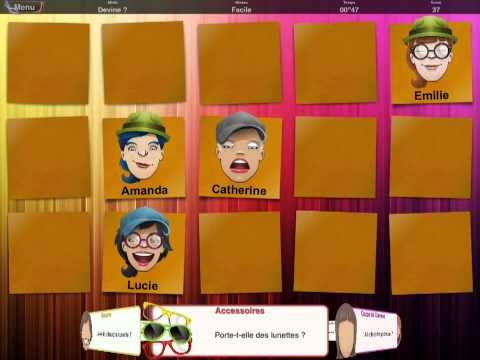 French Apps for Kids: Qui est-ce?