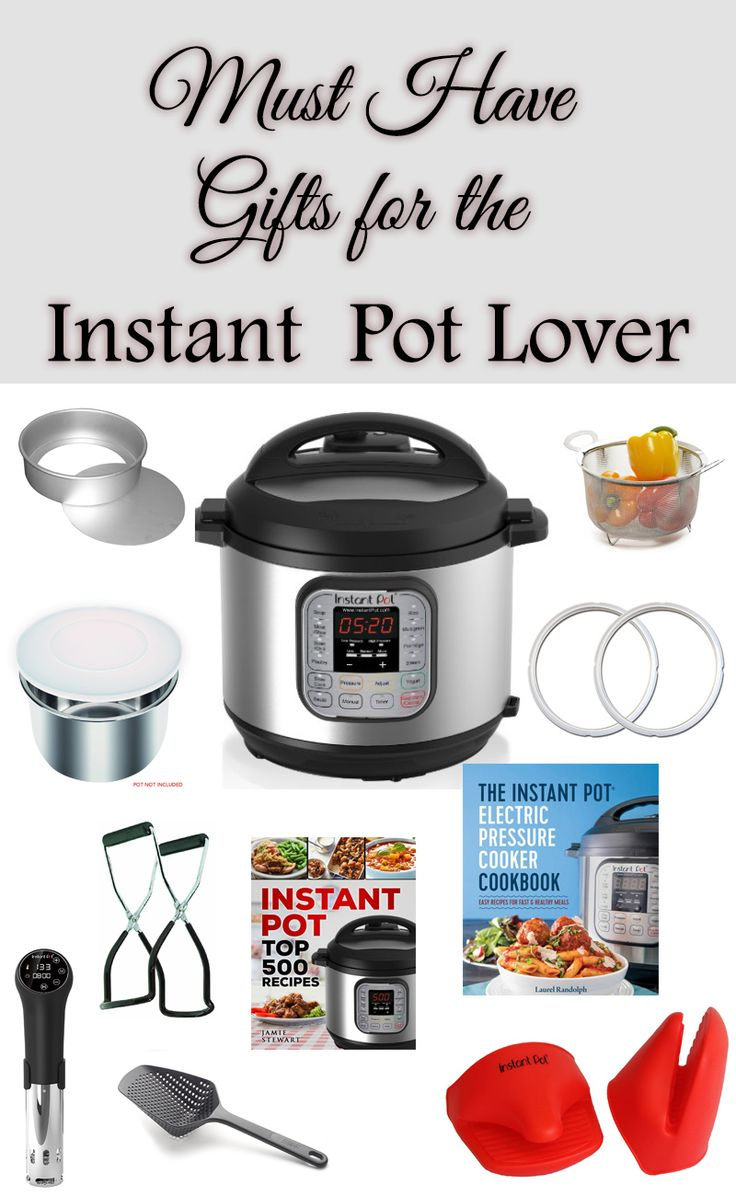Did you get an Instant Pot & wonder now what accessories you might like I have compiled a list of must have gifts for the Instant Pot Lover! via @AFHomemaker