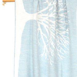 Luna Ninos Wool Tree Blanket – Blue
