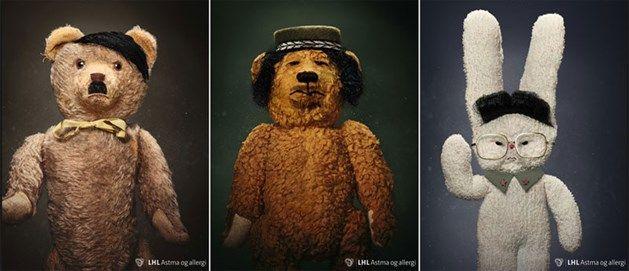 Zijn teddyberen schadelijk voor de gezondheid?