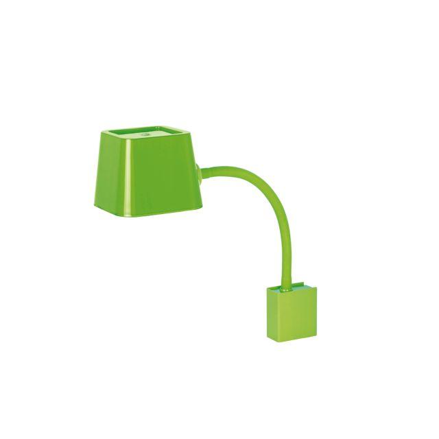 Aplique de pared divertido verde #decoracion #iluminacion #diseño #lamparasinterior #apliquespared #lamparas #retro #vintage