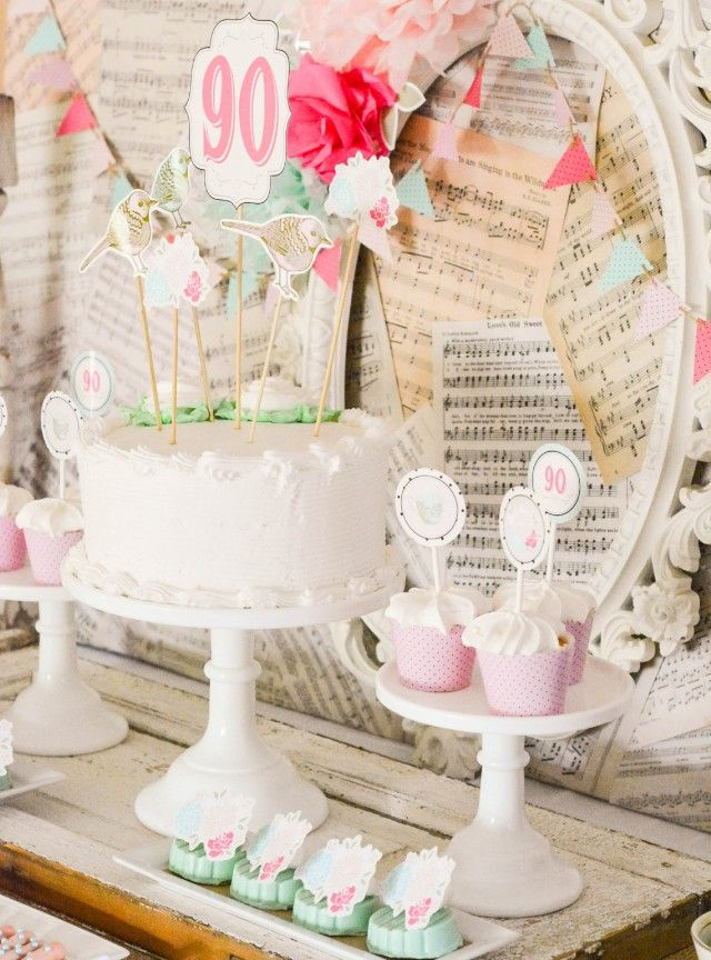 17 best images about vintage shabby chic party inspiration for Table de noel shabby chic