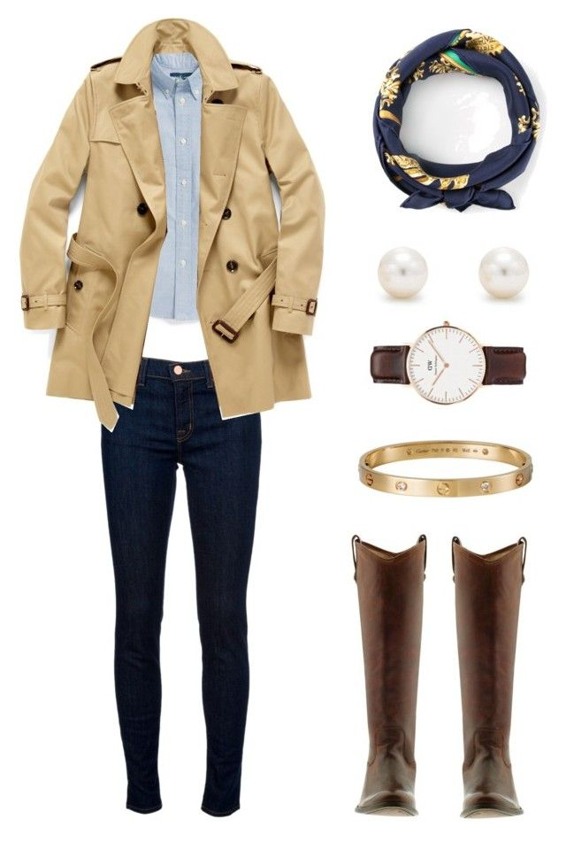 Burberry Trench / ABC Tag by preppy-katie on Polyvore